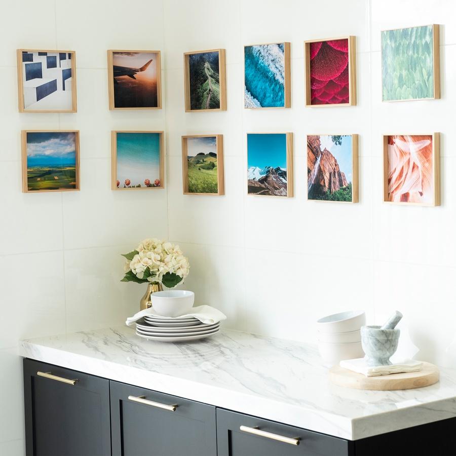 8 x 8 photo tiles
