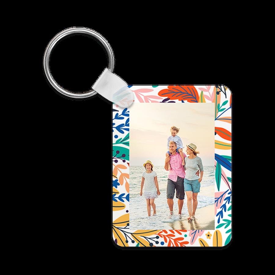 Tropic Garden Keychains Personalized Keychains Online